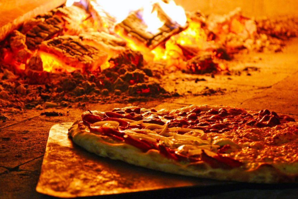 Una de las pizzas. Foto cedida por el establecimiento.