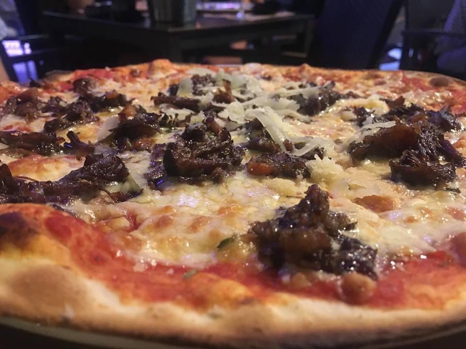 pizza de rabo de toro