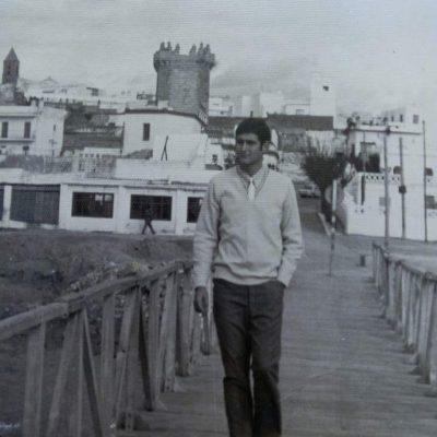 Juan Ureba, primo de Manuel Sánchez e integrante de los Trafles.