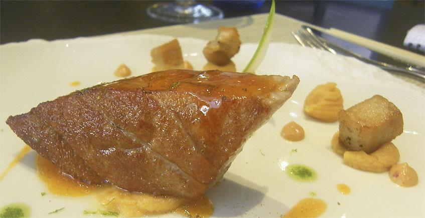 Los 14 platos del menú degustación de atún de El Campero