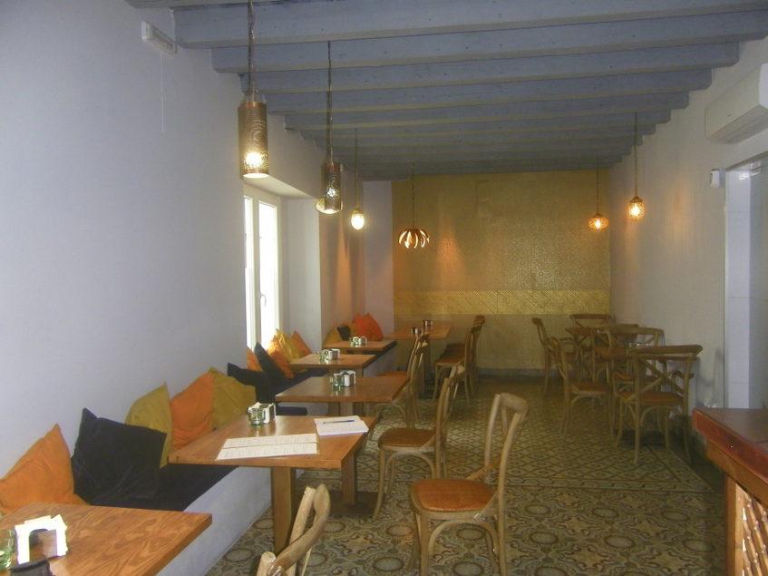 El comedor de Alboronía. Foto: Cosasdecome