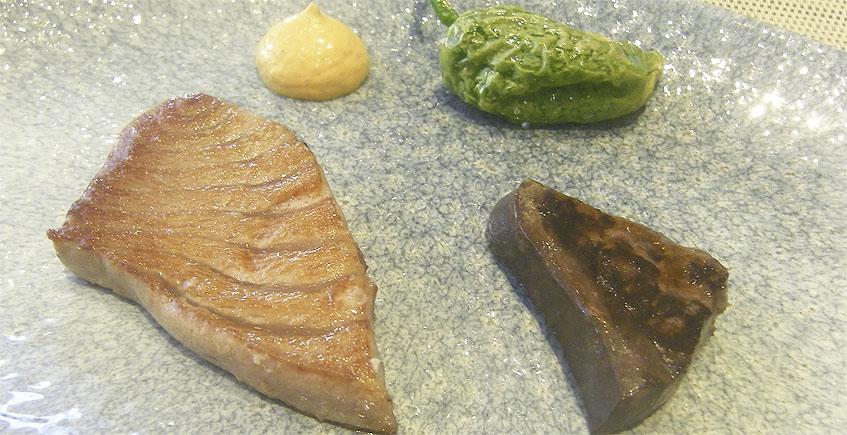 Parrillada de atún. Foto: Cosasdecome