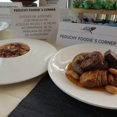 Cocido de judiones y pringá de atún de Feduchy Foodie's Córner. Foto: CosasDeComé