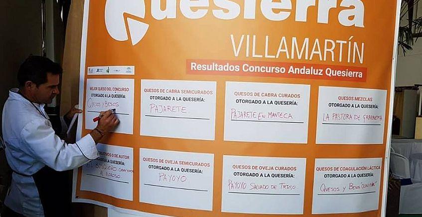 Un queso de Jaén gana el primer premio de Quesierra... pero los demás se quedan en la provincia