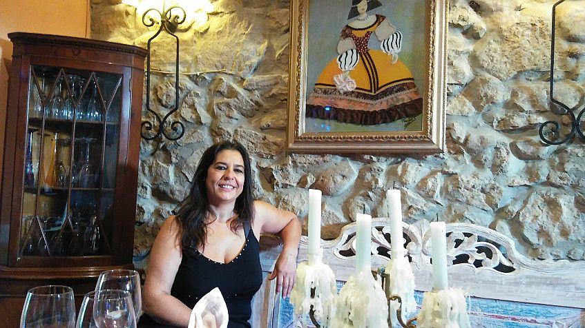 La propietaria, Nieves Domínguez.