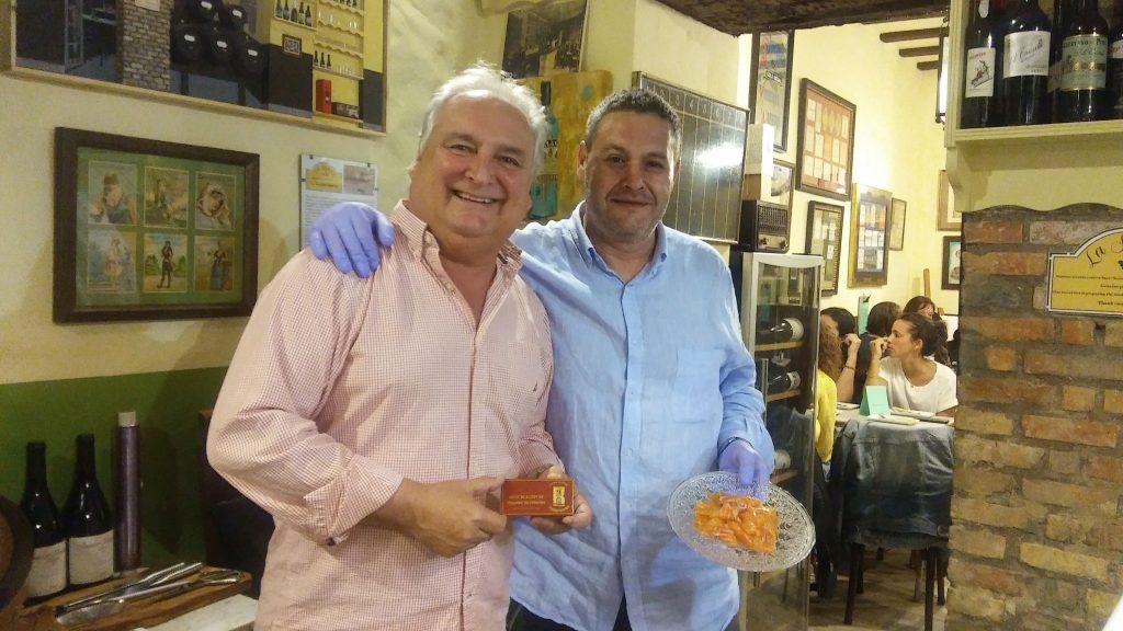 Juan Carlos Borrell y Mario Villero.