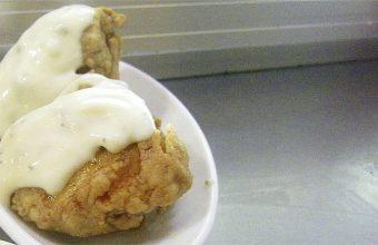 El pollo frito al limón del bar La Casita