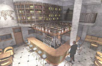 Así será el interior de la nueva cafetería La Vega. Foto cedida por el establecimiento