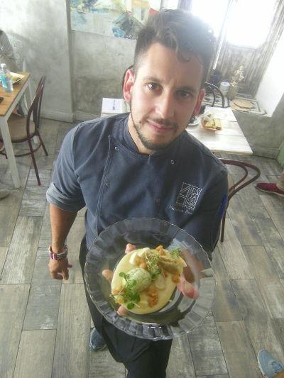 El cocinero. Foto: Cosasdecome