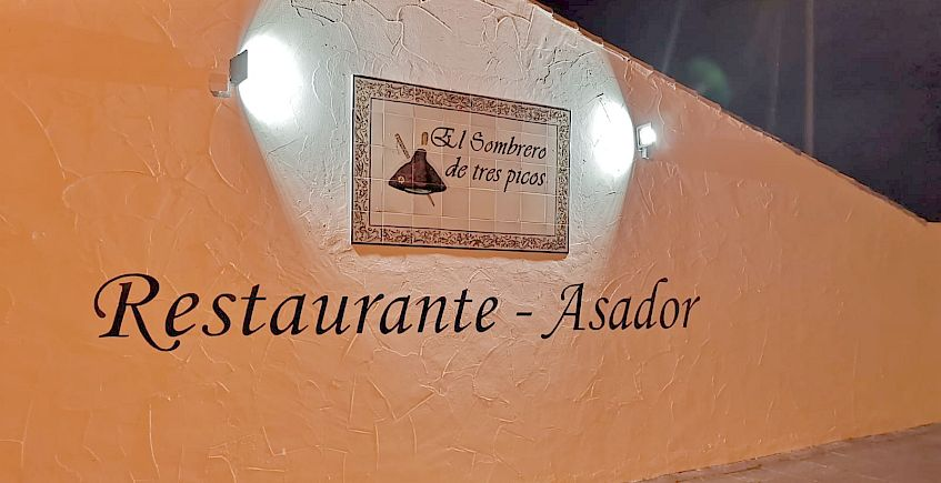 Bar restaurante El Sombrero de Tres Picos