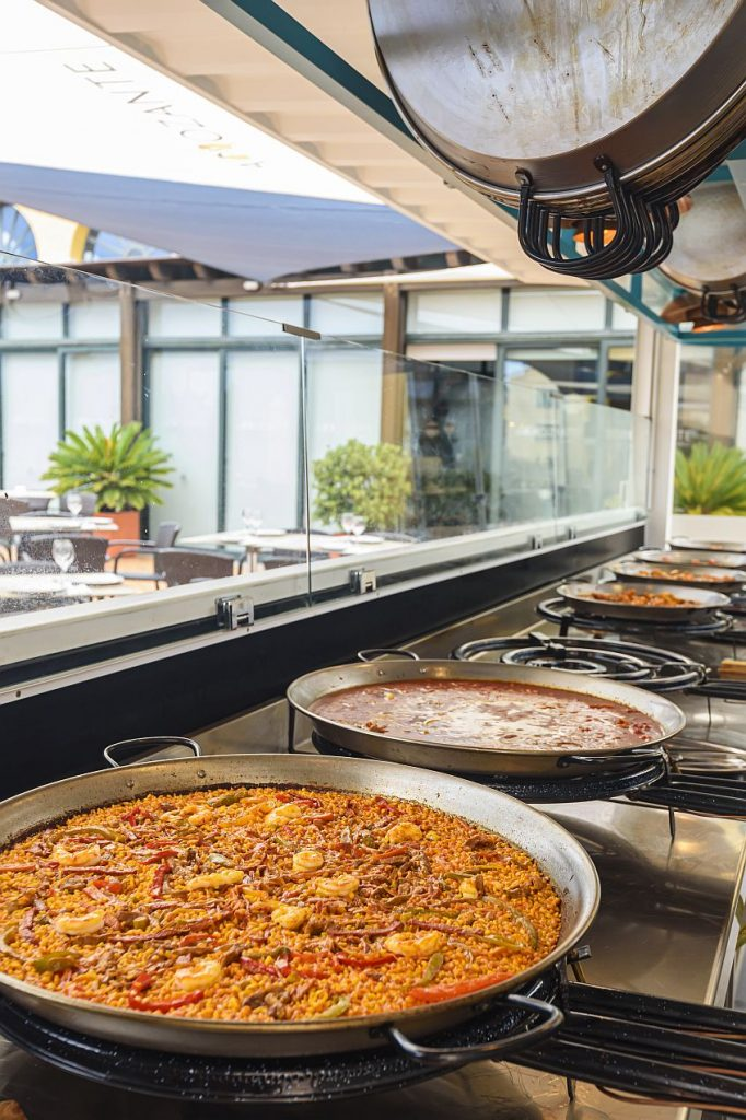 Arroces en el hotel de Costa Ballena. Fotos cedidas por el establecimiento.