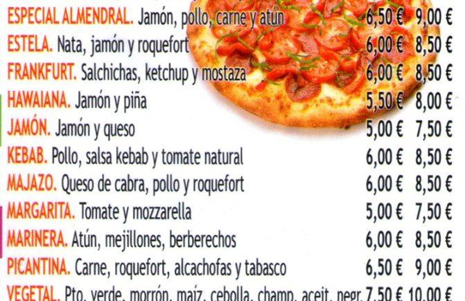 Pizzeria el almendral 4