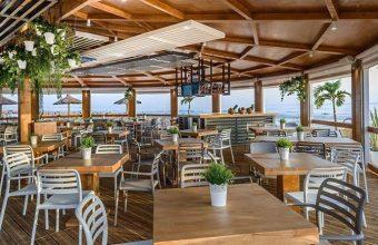 La terraza de Feduchy Playa. Foto: Cedida por el establecimiento