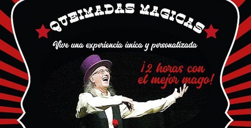 Juan Tamariz hará una queimada (y magia) en El Pelícano de Cádiz