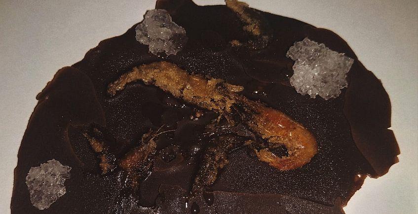 tortillitas de camarones de chocolate 847