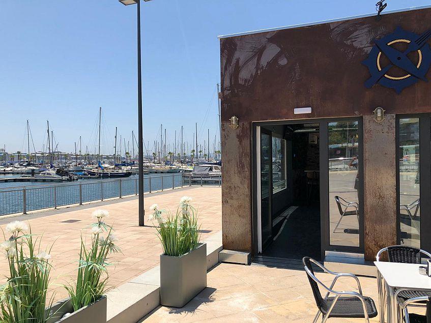 Está ubicado en el puerto. Fotos cedidas por el establecimiento.