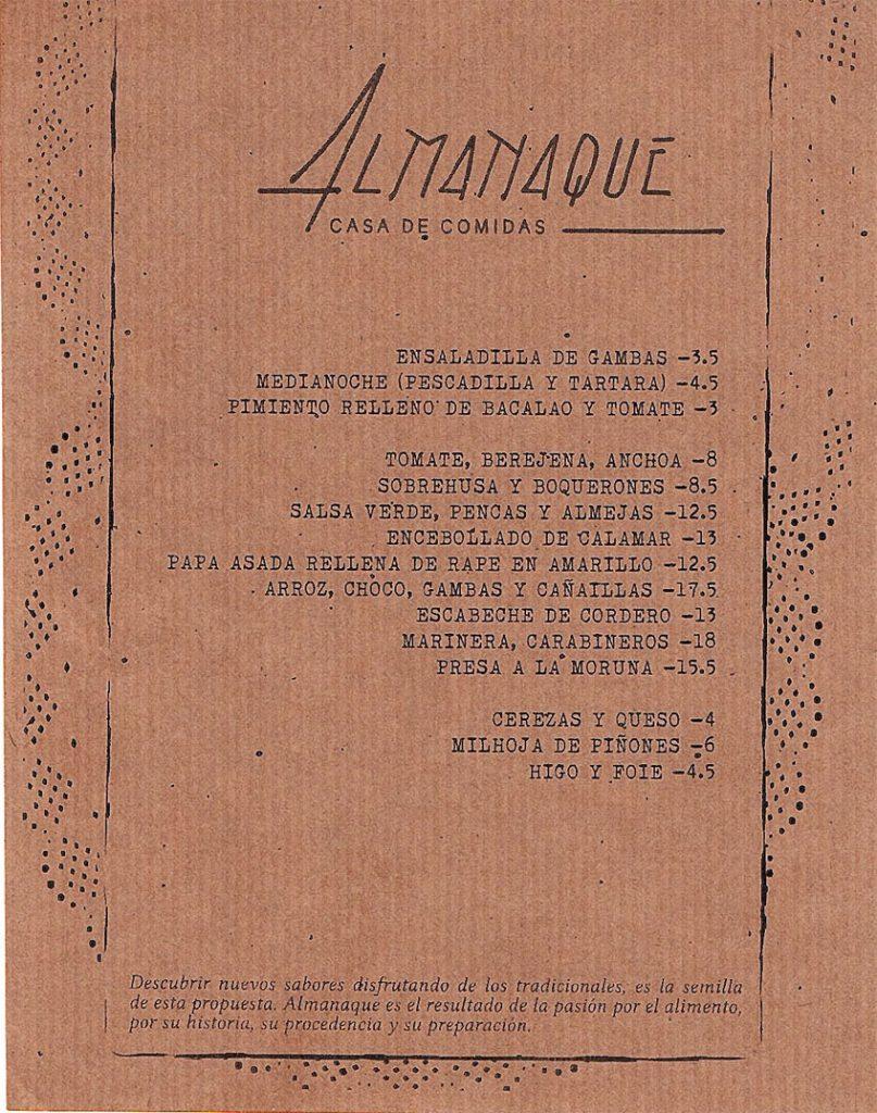 Carta Almanaque agosto 2019