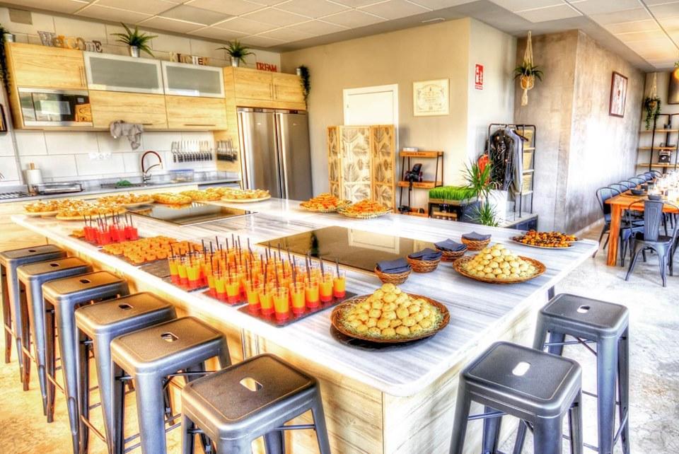 Interior de la escuela de cocina. Fotos cedidas.