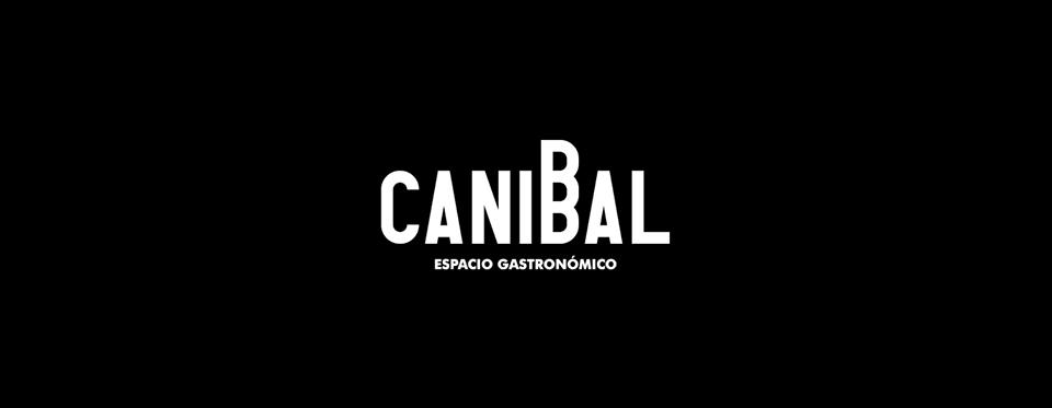 Logotipo de Caníbal, diseñado por la empresa Mesa 12