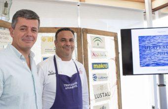 Juan Martin y Angel León de Aponiente durante la presentación del Despesque 2019. Foto: Cedida por Aponiente
