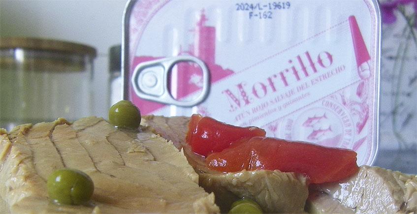 El morrillo de atun rojo del Estrecho, uno de los productos lanzados por la Conservera con atún de JC Makintosh. Foto: Cosasdecome