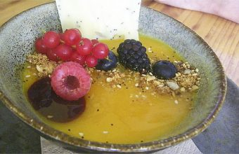 La tarta de queso al Palo Cortao de Mic Moc