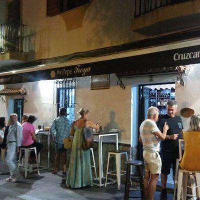 Vista exterior del bar Pepe Troya. Foto: Cosasdecome