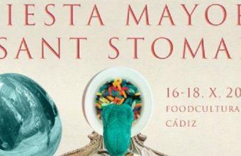 Fiesta Mayor de Sant Stomak los días 16 y 18 de octubre en Cádiz