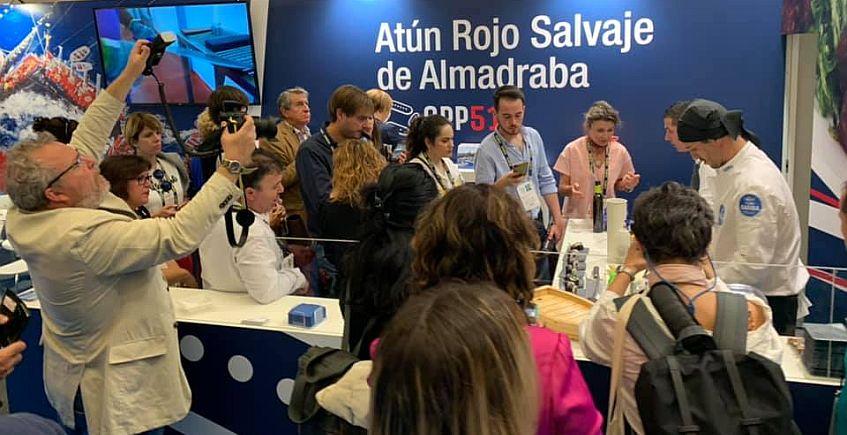 Gadira y El Campero protagonizan la 'presentación' del atún de almadraba en San Sebastian Gastronomika