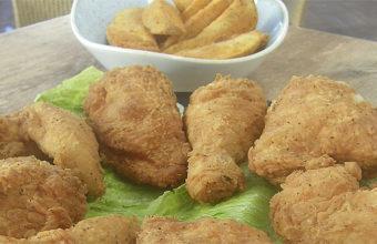 El genuino pollo frito Broaster de Pantalán G