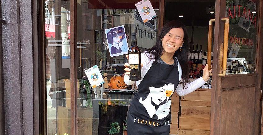 Sherry Week Japan 2019 instore tasting