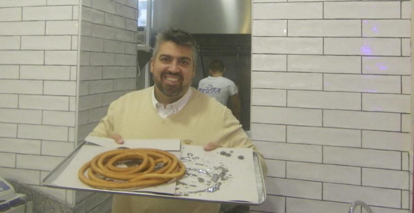 Francis Mel con churros