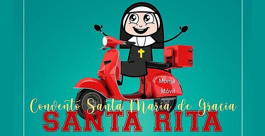 """El convento de clausura de Santa Rita de Jerez crea el """"Monja móvil"""" y llevan sus dulces a domicilio"""
