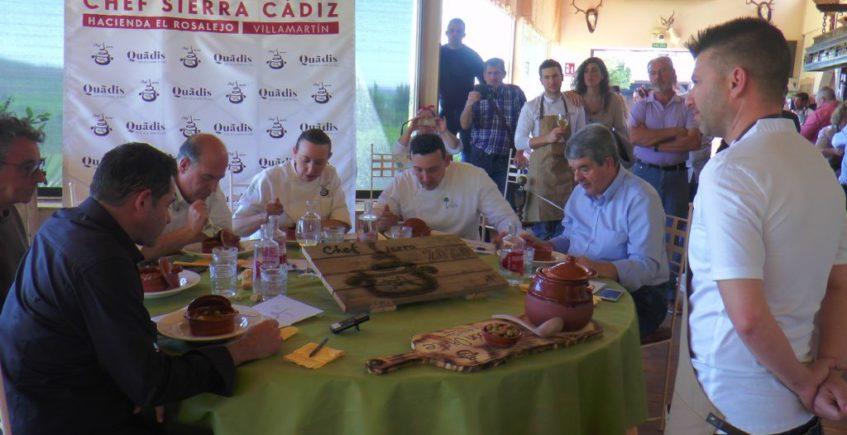 Diecisiete cocineros pasan a la siguiente fase del concurso Chef Sierra de Cádiz