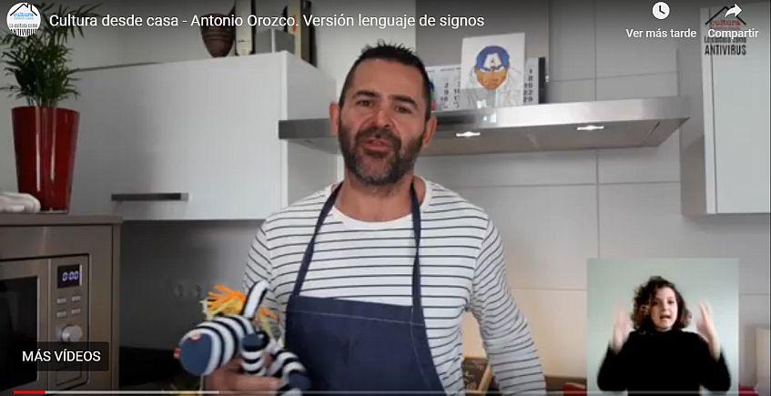Papillote de salmón, también en lenguaje de signos