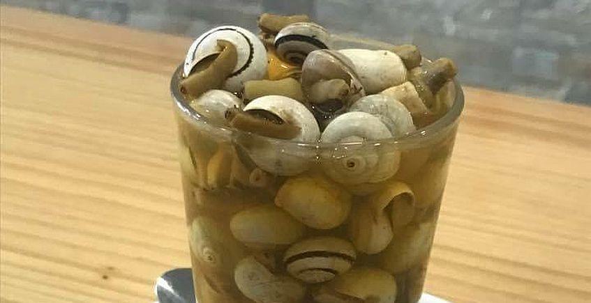 21 de abril: Arranca la temporada de caracoles... a domicilio