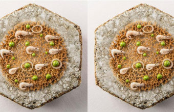 Tortillita de camarones de Aponiente