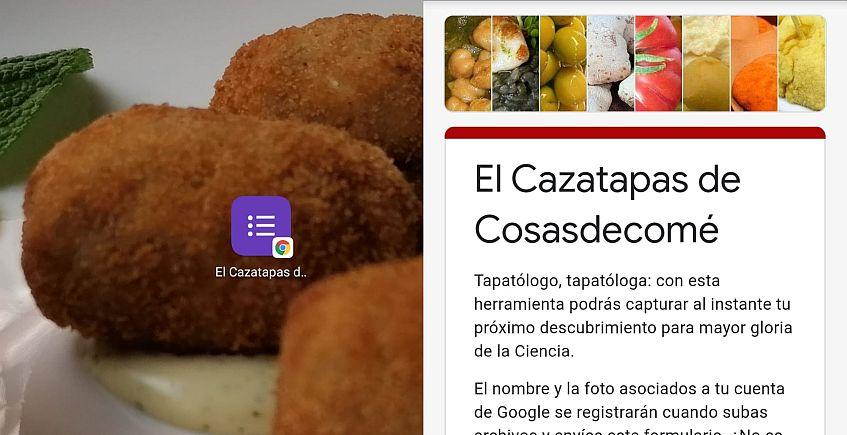 Cosasdecomé crea el Cazatapas para recomendar platos rápidamente y desde el movil
