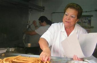 Puesto de churros de Charo