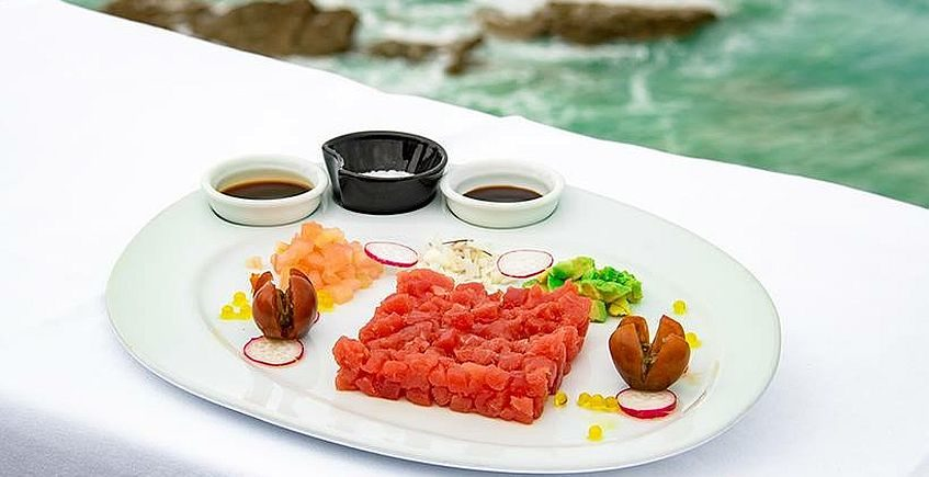 Tartar de atún rojo de El Mirador del Roqueo de Conil 847