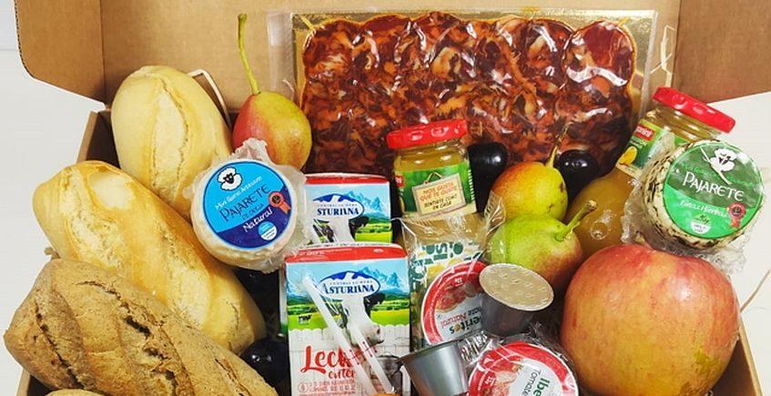 Un servicio de desayuno a domicilio para los que visitan Cádiz