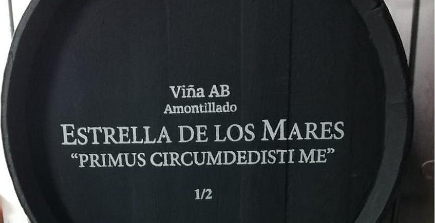 González Byass enrola su amontillado viña AB en el Elcano