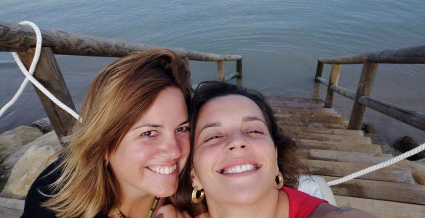 Nuria Campreciós y Sara Moya, propietarias del establecimiento. Foto cedida por La Jara