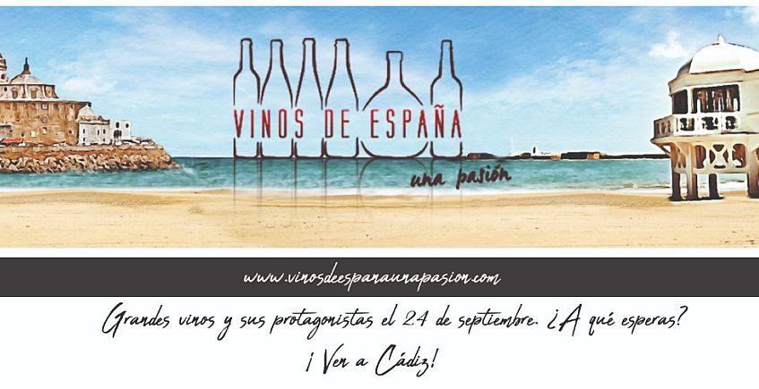 Más de 40 bodegas en Vinos de España. Un Pasión en Cádiz