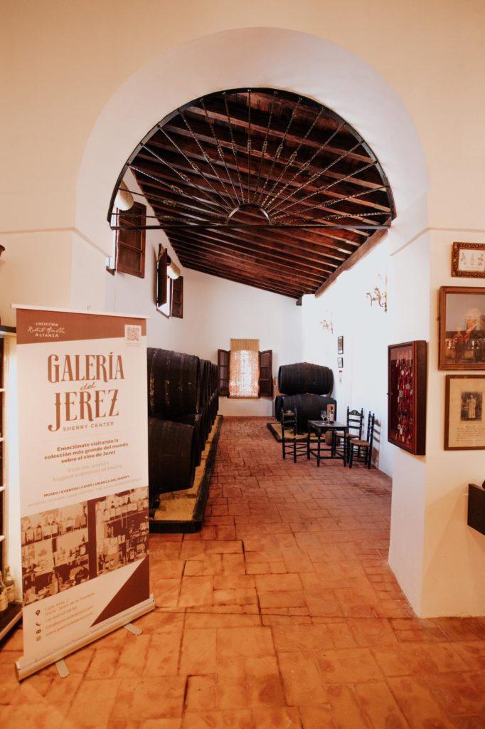 Galería del Jerez también cuentan con su propia sacristía. Foto cedida por Roberto Amillo