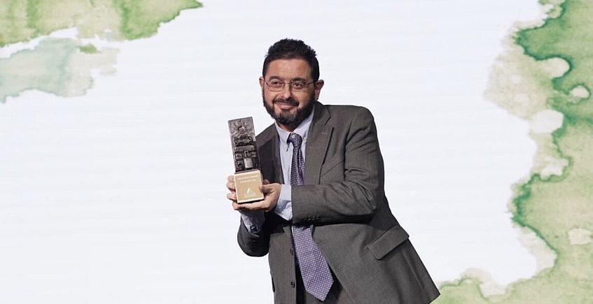 Cosasdecomé recibe su Premio Andalucía de Turismo en Aracena