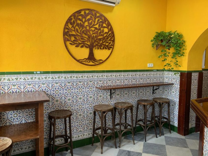 Además de parte de su carta, el nuevo establecimiento respeta la estética de la antigua Gallega. Foto cedida por el Triskel