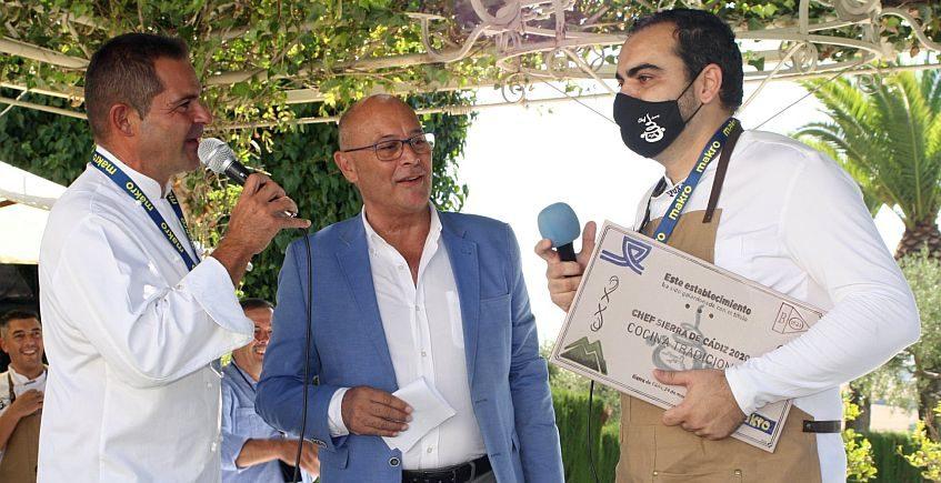 Fernando Naranjo y Juan Manuel Saborido, ganadores del III Chef Sierra de Cádiz