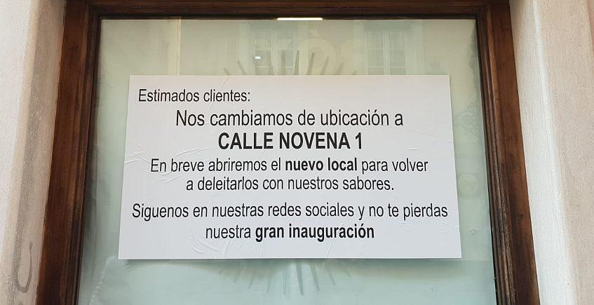 San Wich abrirá en la calle Novena con más coctelería, postres y menú degustación