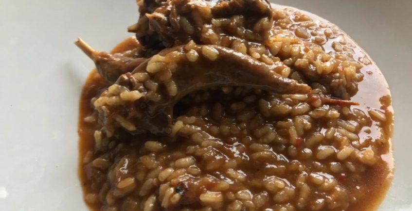 arroz de pollo de campo